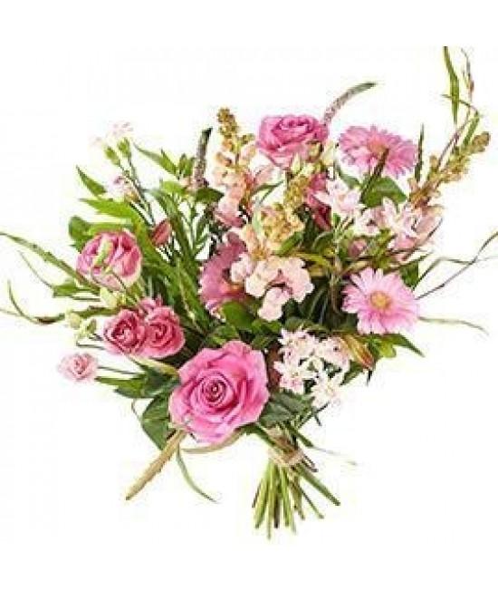 Gemengd roze